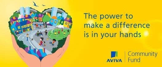Aviva Community Fund 2018 – success with all three of our £1000 award applications!